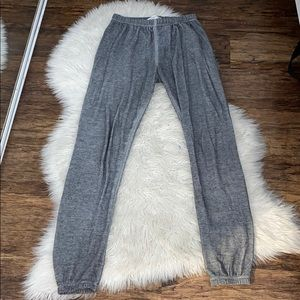 Grey Wildfox Sweatpants!!